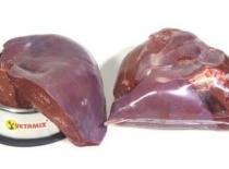 Hovězí játra 1kg - Syrové maso, BARF